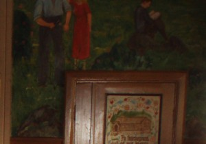 målning